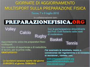 locandina seminario roma multisport