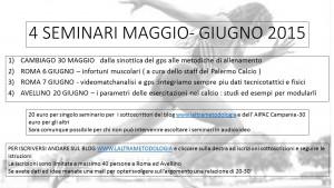 logo 4 SEMINARI MAGGIO- GIUGNO 2015